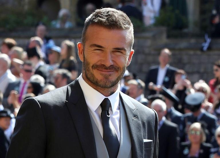 Beckham vio la derrota de Inglaterra en una fiesta que alojó en Miami