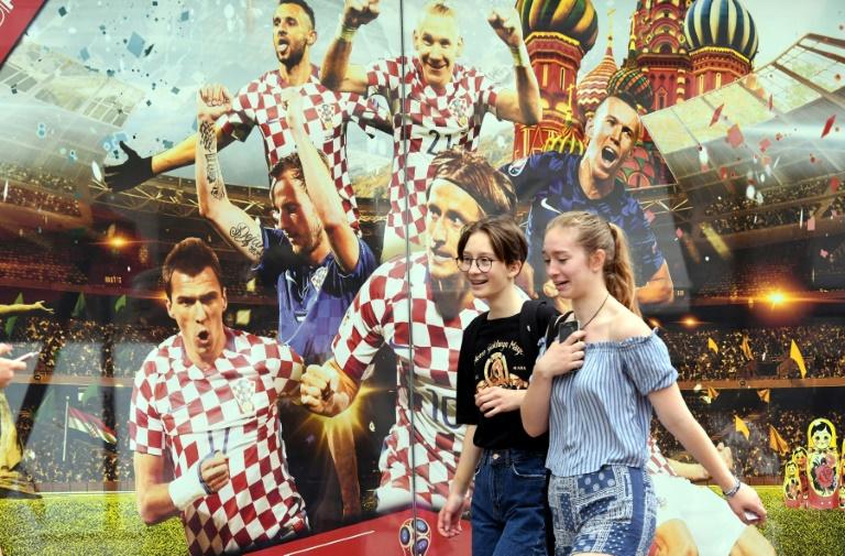Los ministros del gabinete croata visten la camiseta de su selección