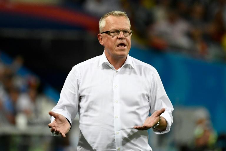 El DT de Suecia, furioso porque los alemanes festejaron el gol en nuestras narices