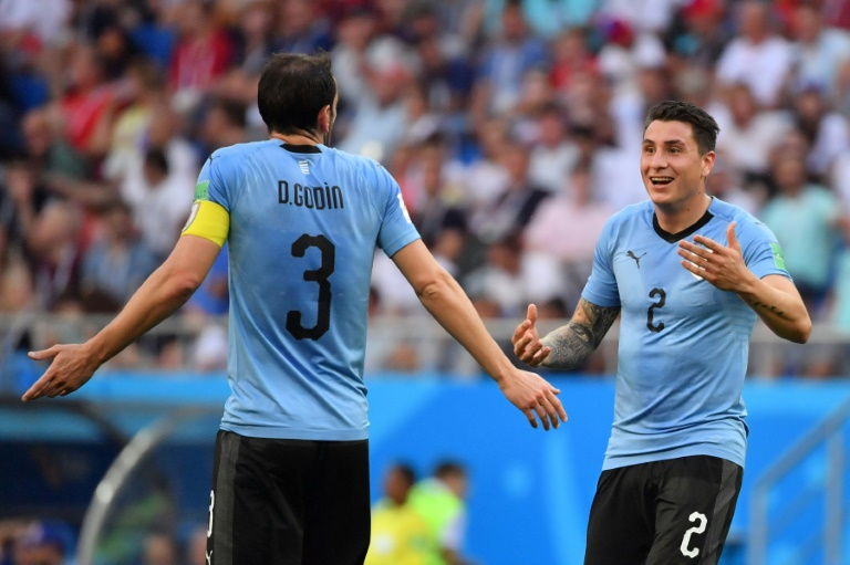 Defensor uruguayo José Giménez se pierde  duelo ante Rusia por lesión