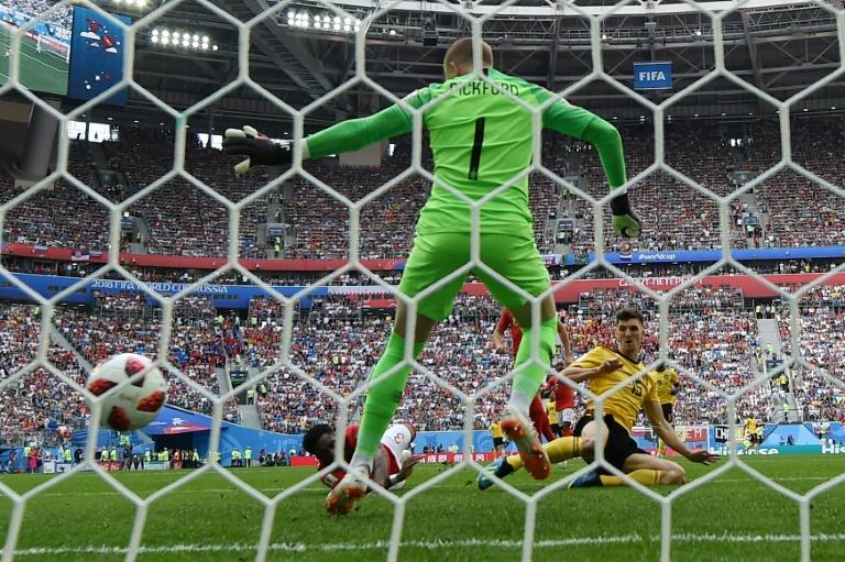 Entretiempo: Bélgica vence 1-0 a Inglaterra en el partido por el tercer lugar