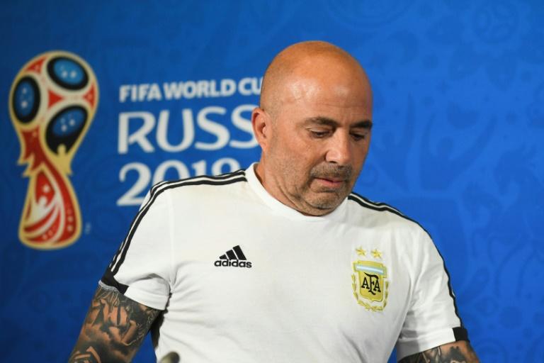 Sampaoli acordó su salida de la selección argentina