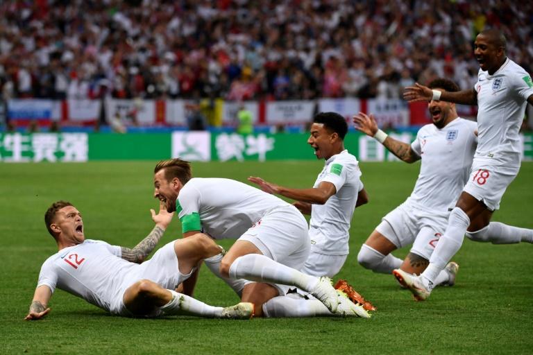 Entretiempo: Inglaterra aventaja 1-0 a Croacia en semifinales
