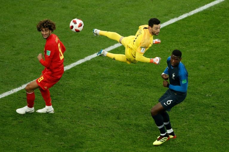 Entretiempo: Francia y Bélgica empatan sin goles en la semifinal mundialista